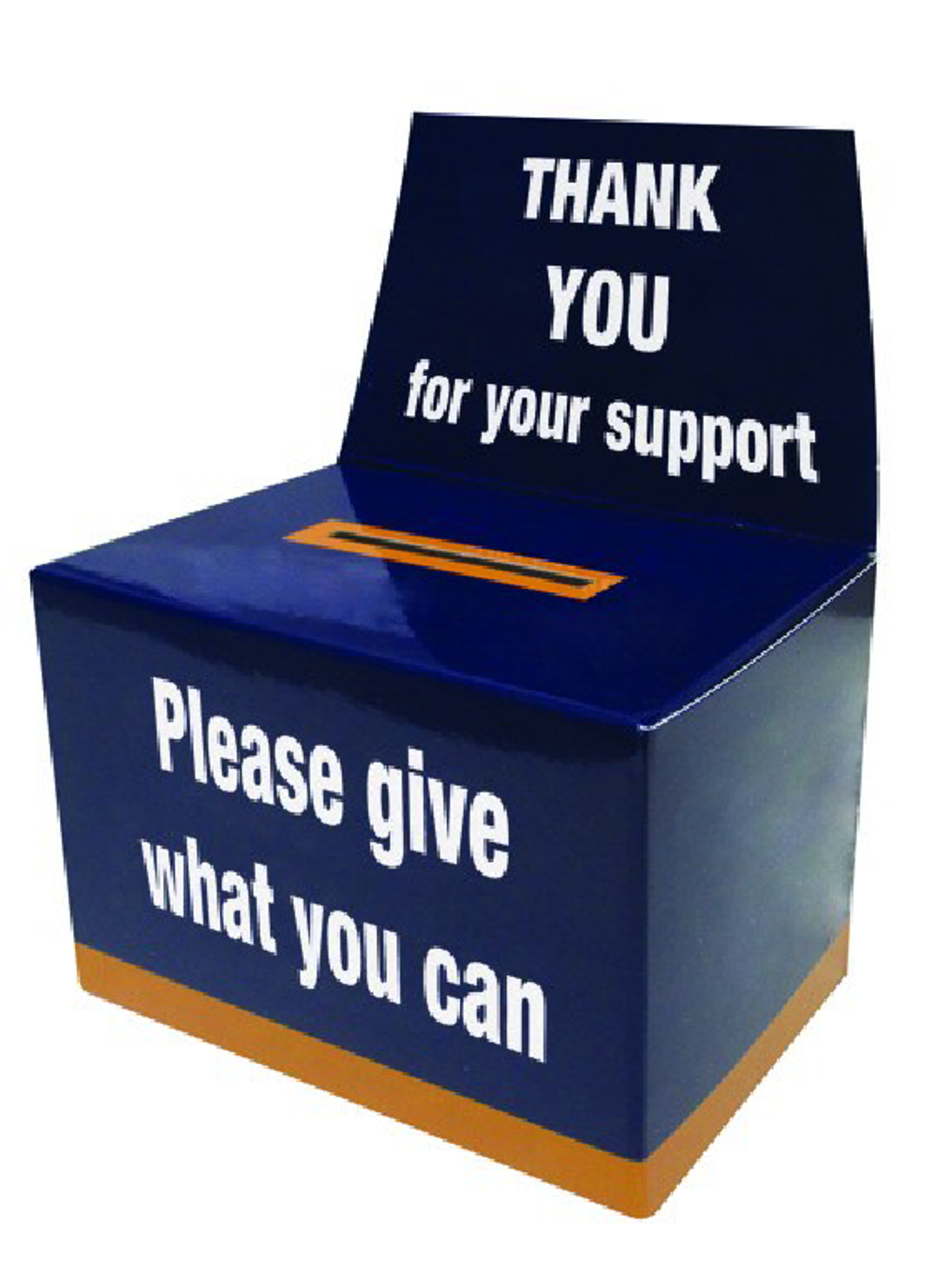 Flat Pack Collection Boxes Charity Buckets Uk