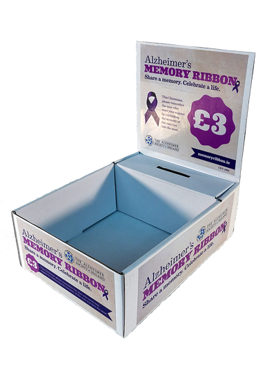 A5 Pin Box Cardboard Charity Collection Boxes Uk