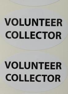 Volunteer Stickers